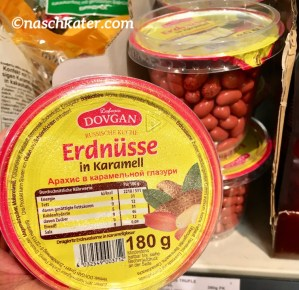 Dovgan Erdnüsse in Karamell