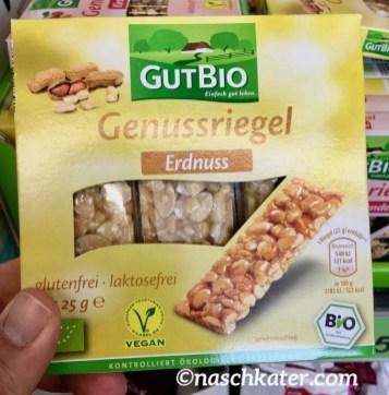 Aldis GutBio Genussriegel Erdnuss