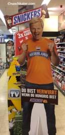 Mars Snickers Aufsteller Oliver Kahn Niederlande-Trikot