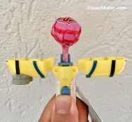 Minion Dauerlutscher Spielzeug offen