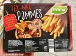 Prima Menü Tex-Mex Pommes Mikrowellen