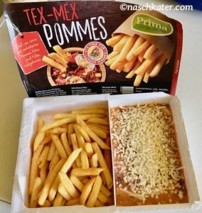 Prima Menü Tex-Mex Pommes Schale offen