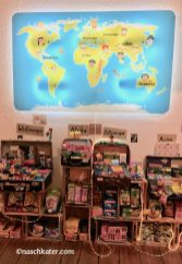 Sugarfari Weltkarte