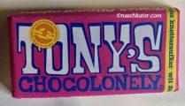 Tony's Chocolonely Weiße Schokolade Erdbeer Knisterzucker Knettersuiker Schokolade