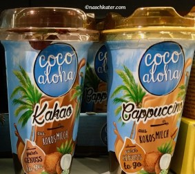 Coco Aloha Kokosmilch Kakao Becher