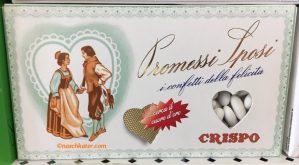 Crispo Promessi Sposi i confetti della felicita