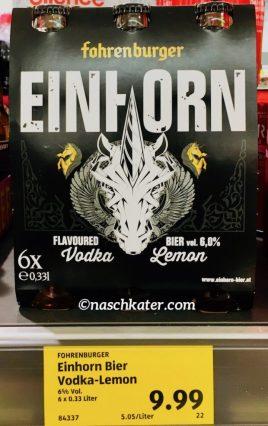 Fahrenburger Einhorn Vodka Lemon