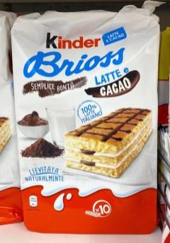 Kinder Brioss Latte+Cacao 10er neue VErpackung
