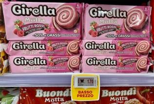 Motta Girella Frutti Rossi -50% Fett 6er