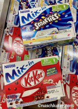 Nestlé Mix-in KitKat Smarties Joghurt