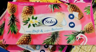 Solo Tissues mit Ananas-Duft.