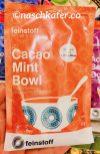 feinstoff Protein Bowl Maca Kakao Amaranth Mint