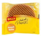 Billa Karamell Waffeln Snack Einzeln verpackt Mach mal Pause