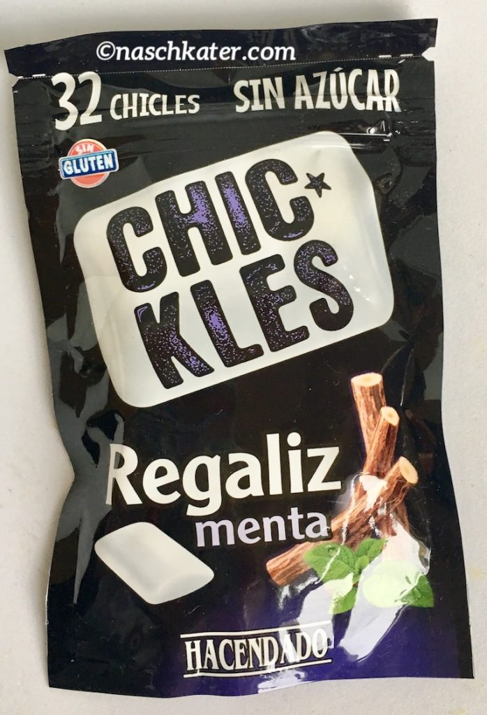 Chickles Regaliz menta Kaugummi
