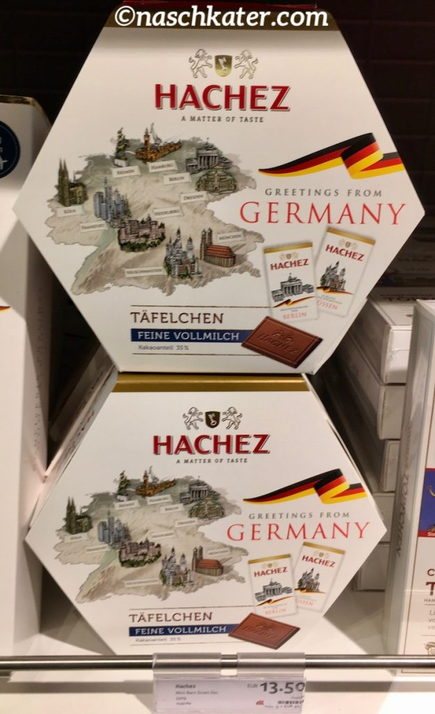 Hachez Germany Täfelchen Travel Edition