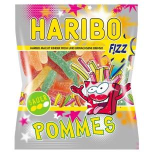 Haribo Pommes FIZZ Sauer Beutel