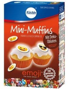 Küchle Emoji Mini-Muffins Backmischung