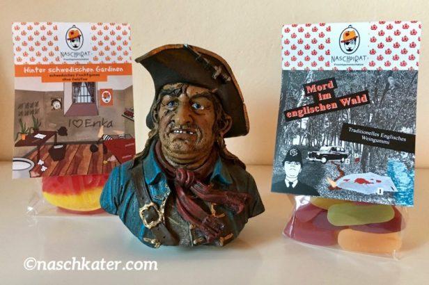 Naschpirat Krimi-Edition mit Piratenfigur