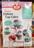 RUF Einhorn Cup Cakes Backmischung