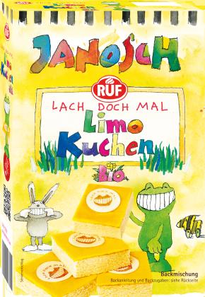 RUF Janosch-Bio-Limokuchen Backmischung