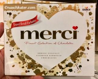 Storck merci Travel Retail Exclusive