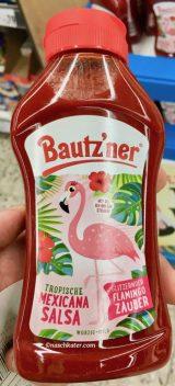 Bautzner Tropische Mexicana Salsa-Glitzernder Flamingo-Zauber Ketchup