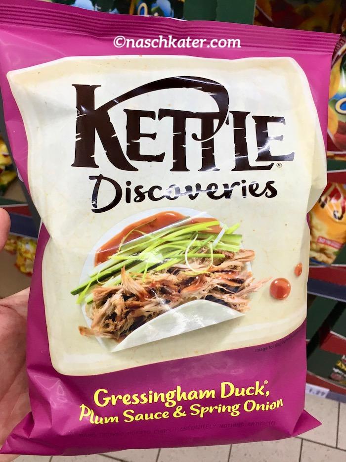 Kettle Discoveries Gressingham Duck Plum Sauce+Spring Onion