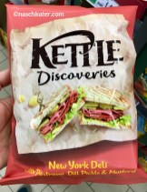 Kettle Discoveries New York Deli with Pastrami, Dill Pickle + Mustard
