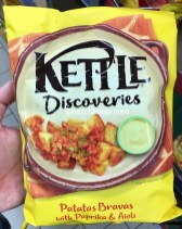 Kettle Discoveries Patatas Bravas with Paprika+Aioli