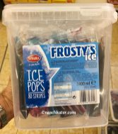 Nawarra Frosty's Ice Ice Pops 2400ml