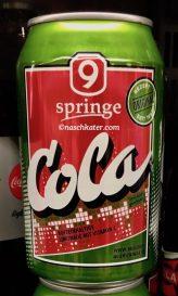Springe 9 Cola in Grün-Rot