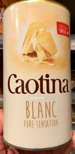 Caotina Blanc pure Sensation Kakaopulver
