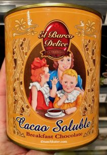 El Barco Delice Cacao Soluble Breakfirst Chococlate Nostalgiedose