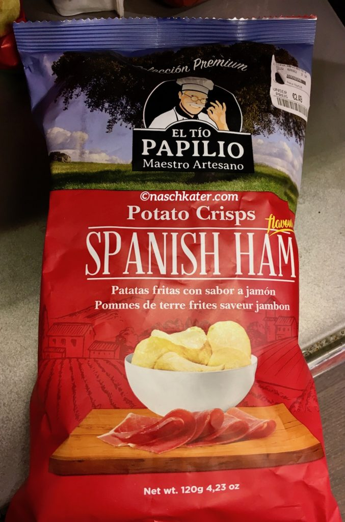 El Tio Papilio Potato Chips Crisps Spanish Ham