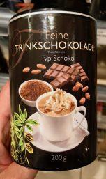 Feine trinkschokolade Typ Schokox