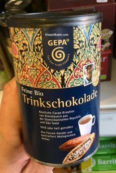 Gepa Feine Bio-Trinkschokolade Dose