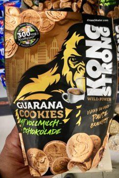 Kong Strong Guarana Cookies mit Vollmilch-Schokolade