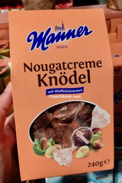 Manner Nougatcreme Knödel
