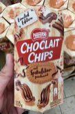 Nestlé Choclait Chips mit Spekulatius-Aroma 115 Gramm