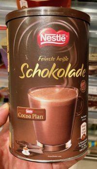 Trinkschokolade von Nestlé.