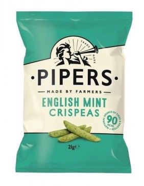 Pipers English Mint Crispeas