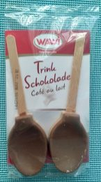 WAWI Trinkschokolade Café au Lait am Stil