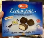 Aldi Mucci Eiskonfekt Vanille 4 x 10 Stück 400ml