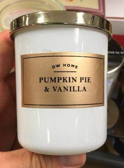 DW Home Pumpkin Pie & Vanilla Kerze Candysierung