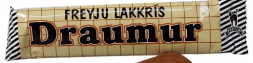 Freyju Lakris Draumur Lakritzschokolade
