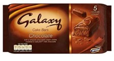Galaxy Cake Bars Chocolate