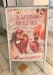 Plakatwerbung aufsteller Kamps Weckmann Pfeife