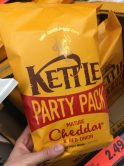 Kettle Party Pack Cheddar