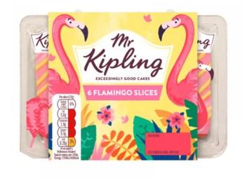 Mr Kipling Exceedingly Good Cakes 6 Flamingo Slices