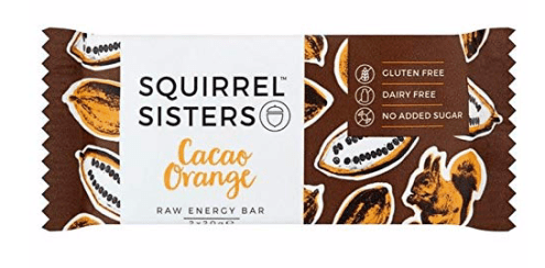 Squirrel Sisters Cacao Orange Riegel Eichhörnchen